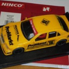 Slot Cars: NINCO 50107 MERCEDES AMG C-KLASSE PROMARKT Nº15. Lote 254051925
