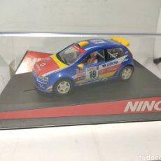 Slot Cars: NINCO FIAT PUNTO SUPER 1600 VODAFONE REF. 50336. Lote 254261510