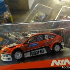 Slot Cars: ANTIGUO COCHE DE SLOT NINCO FORD FOCUS WRC - SCALEXTRIC SCX COMPANC. Lote 256084625