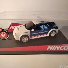 Slot Cars: NINCO VOLKSWAGEN GOLF MOSSOS D'ESQUADRA REF. 50320 POLICIA. Lote 257599805