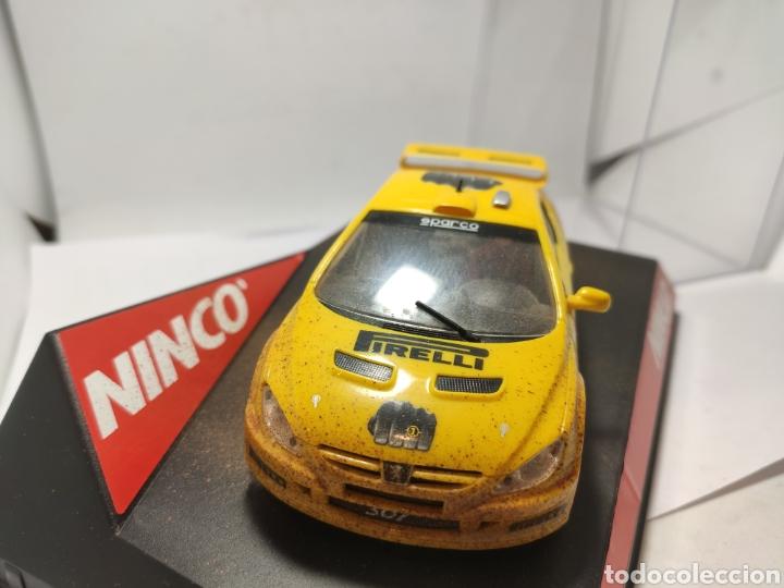 Slot Cars: NINCO PEUGEOT 307 WRC PIRELLI BARRO REF. 50367 - Foto 3 - 262627495