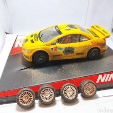 Slot Cars: NINCO PEUGEOT 307 WRC PIRELLI BARRO REF. 50367. Lote 262627495