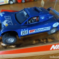 Slot Cars: ANTIGUO COCHE DE SLOT NINCO SCHELESSER BUGGY - FOX RALLY RAID - SCALEXTRIC SCX. Lote 263211335