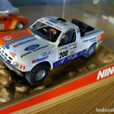 Slot Cars: ANTIGUO COCHE SLOT FORD PROTRUCK NINCO RALLY RAID BAJA - SCALEXTRIC SCX -. Lote 263212110