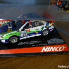 Slot Cars: ANTIGUO COCHE DE SLOT NINCO SUBARU IMPREZA WRX STI WRC - RALLY - SCALEXTRIC SCX. Lote 263212305