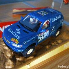 Slot Cars: ANTIGUO COCHE RALLY RAID SLOT NINCO BMW X5. Lote 263212495