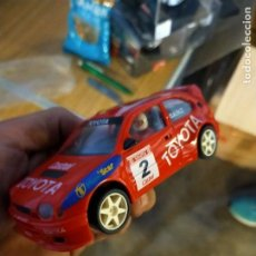 Slot Cars: ANTIGUO COCHE DE RALLY SLOT NINCO TOYOTA COROLLA WRC - SCALEXTRIC SCX. Lote 263214375