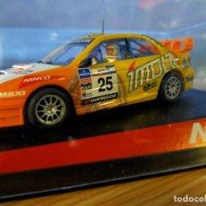 Slot Cars: ANTIGUO COCHE RALLY SLOT NINCO SUBARU IMPREZA WRC WRX STI - IMOLA - SCALEXTRIC SCX. Lote 263282550