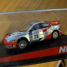 Slot Cars: ANTIGUO COCHE RALLY SLOT NINCO SUBARU IMPREZA WRC WRX STI - IMOLA DOGA - SCALEXTRIC SCX. Lote 263283260