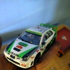 Slot Cars: ANTIGUO COCHE DE RALLY SLOT SUBARU IMPREZA WRX STI WRC NINCO SCX - SCALEXTRIC. Lote 263539250