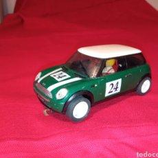 Slot Cars: MINI COOPER VERDE NÚMERO 24 NINCO SCALEXTRIC LEER DESCRIPCIÓN. Lote 264784049
