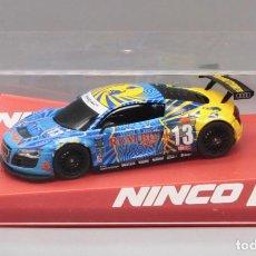Slot Cars: AUDI R8 GT3 RUM BUM RACING (NINCO). Lote 268463899
