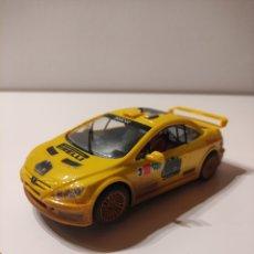 Slot Cars: SCALEXTRIC NINCO PEUGEOT 307 EFECTO BARRO. Lote 270897593