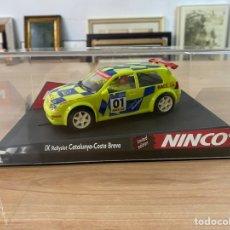 "Slot Cars: COCHE CARRERAS NINCO ""IX RALLYSLOT CATALUNYA/ COSTA BRAVA"". Lote 275215128"