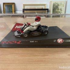 "Slot Cars: COCHE CARRERAS NINCO ""KART F1 SERIES SILVER"". Lote 275215923"