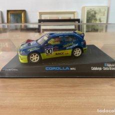 """Slot Cars: COCHE CARRERAS NINCO """"COROLLA WRC 8RALLYSLOT CATALUÑA/ COSTA BRAVA"""". Lote 275216653"""