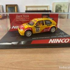 """Slot Cars: COCHE CARRERAS NINCO """"CITROËN SAXO WORLD CHAMPION """". Lote 275227058"""
