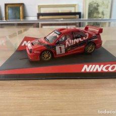 "Slot Cars: COCHE CARRERAS NINCO ""SUBARU CLUB JINCO N1"". Lote 275257533"