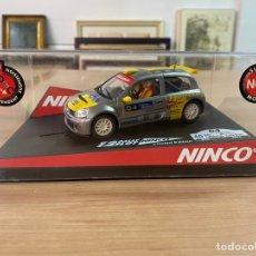 "Slot Cars: COCHE CARRERAS NINCO ""RENAULT CLÍO CATALUNYA COSTA BRAVA 2004"". Lote 275260973"