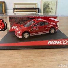 """Slot Cars: COCHE CARRERAS NINCO """"PEUGEOT 307 WRC MONTECARLO 04 PRORACE"""". Lote 275267948"""
