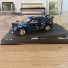 "Slot Cars: COCHE CARRERAS NINCO ""SEAT WRC 7 RALLYSLOT CATALUNYA COSTA BRAVA"". Lote 275271868"