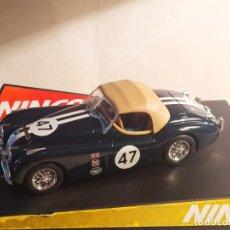 Slot Cars: JAGUAR XK-120 ALPEN RALLY DE NINCO. Lote 277825488