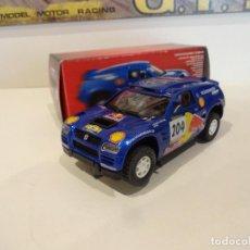 Slot Cars: NINCO. VW TOUAREG. DAKAR 2004. COLECCION SALVAT. Lote 278274268