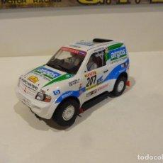 Slot Cars: NINCO. MITSUBISHI PAJERO. ARGOS. Lote 278494448