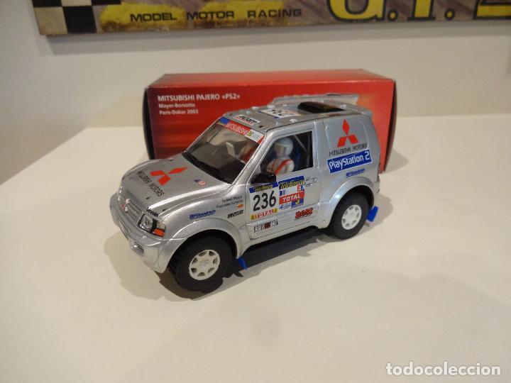NINCO. MITSUBISHI PAJERO. PS2. PARIS-DAKAR 2003 (Juguetes - Slot Cars - Ninco)