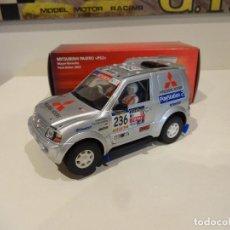 Slot Cars: NINCO. MITSUBISHI PAJERO. PS2. PARIS-DAKAR 2003. Lote 278494628