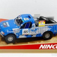 Slot Cars: FORD PRO TRUCK BRUNO SABY RALLY DAKAR 2001 (NINCO). Lote 278521793