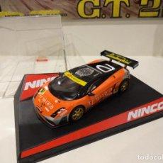 Slot Cars: NINCO. LAMBORGHINI GALLARDO. TRIPLE A. REF. 50513. Lote 279464838