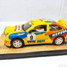 Slot Cars: NINCO SEAT CÓRDOBA WRC REPSOL N°9 ROVANPERA. Lote 281868028