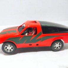 Slot Cars: NINCO FORD RANGER PRO TRUCK NARANJA. Lote 281869613
