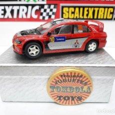 Slot Cars: SCALEXTRIC MITSUBISHI LANCER WRC 2005 AUSTRALIA #10 GALLI # NINCO. Lote 284188888