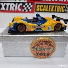Slot Cars: SCALEXTRIC COURAGE #8 C65 SPIRIT MOTOR NINCO. Lote 284191548