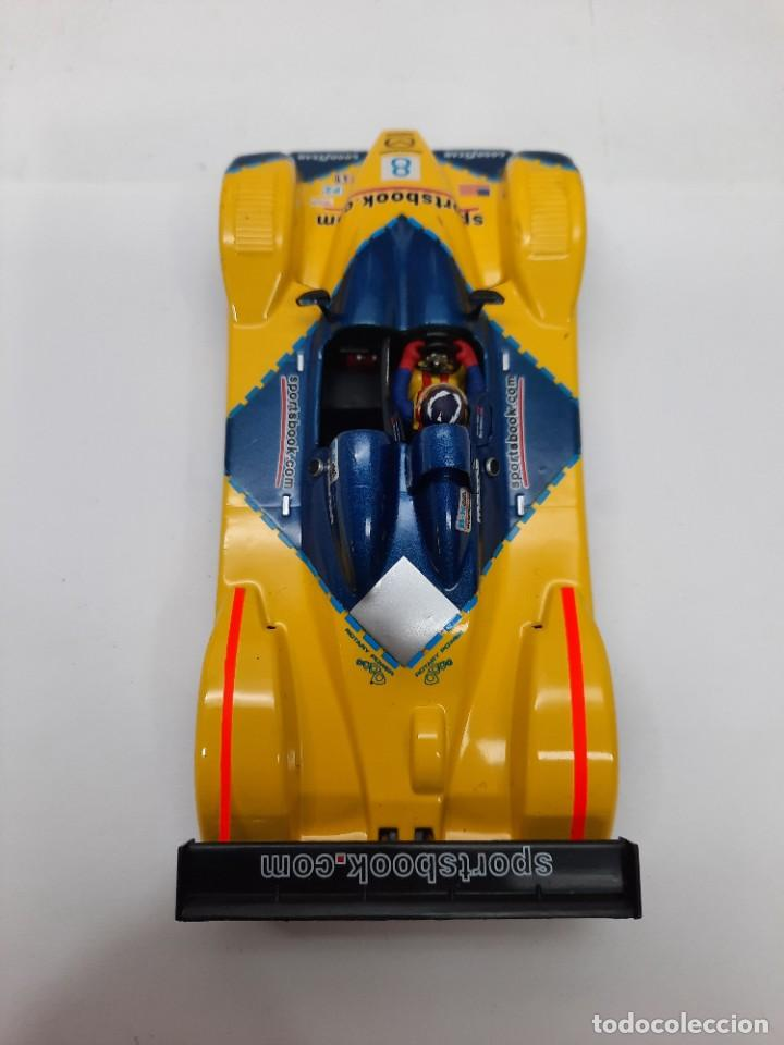 Slot Cars: SCALEXTRIC COURAGE #8 C65 SPIRIT MOTOR NINCO - Foto 4 - 284191548