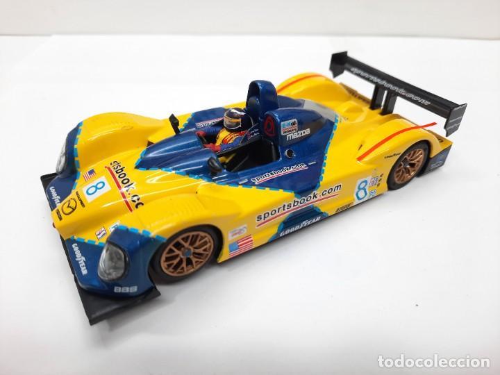 Slot Cars: SCALEXTRIC COURAGE #8 C65 SPIRIT MOTOR NINCO - Foto 10 - 284191548