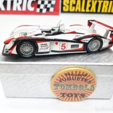 Slot Cars: SCALEXTRIC AUDI R8 CON LUCES #5. Lote 284193398