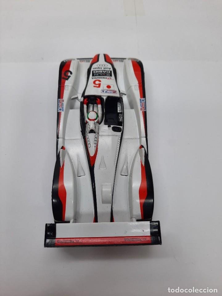 Slot Cars: SCALEXTRIC AUDI R8 CON LUCES #5 - Foto 4 - 284193398