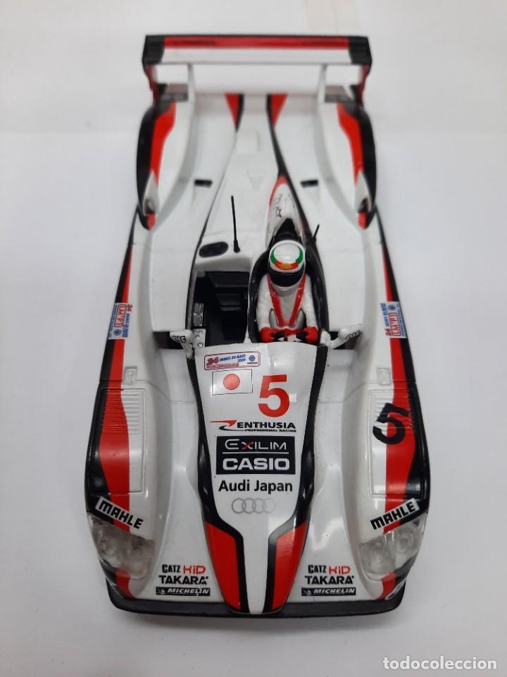 Slot Cars: SCALEXTRIC AUDI R8 CON LUCES #5 - Foto 9 - 284193398