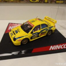 Slot Cars: NINCO. SUBARU IMPREZA WRC. COSTA BRAVA 2002. REF. 50257. Lote 287366683