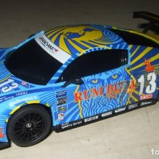 Slot Cars: COCHE AUDI R8 GT3 RUM BUM RACING - NINCO - SCALEXTRIC. Lote 287448178