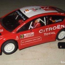 Slot Cars: COCHE CITROEN C4 TOTAL SORDO NUMERO 2 - NINCO - SCALEXTRIC. Lote 287449068