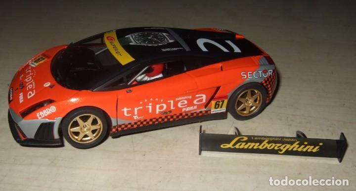 COCHE LAMBORGHINI JAPAN TRIPLE A NUMERO 67 - NINCO - SCALEXTRIC (Juguetes - Slot Cars - Ninco)