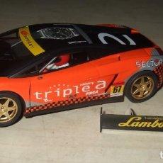 Slot Cars: COCHE LAMBORGHINI JAPAN TRIPLE A NUMERO 67 - NINCO - SCALEXTRIC. Lote 287449663