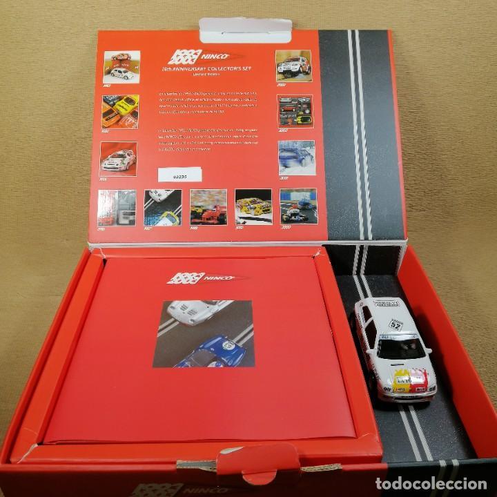 NINCO 1993-2003 10TH ANNIVERSARY COLLECTOR'S SET (Juguetes - Slot Cars - Ninco)