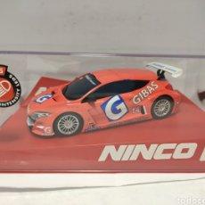 Slot Cars: NINCO RENAULT MEGANE TROPHY'09 GIBAS NINCO1 REF. 55097. Lote 287649738