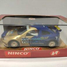 Slot Cars: NINCO RENAULT MEGANE CATALUÑA COSTA BRAVA 1998 REF. 50161. Lote 287830948