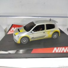 Slot Cars: NINCO RENAULT CLIO SUPER 1600 SHOWCAR REF. 50297. Lote 288006018